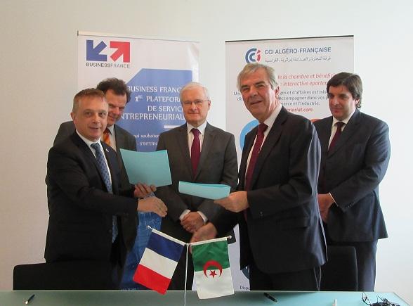 Business France Algerie Et La Cciaf Unissent Leurs Efforts La